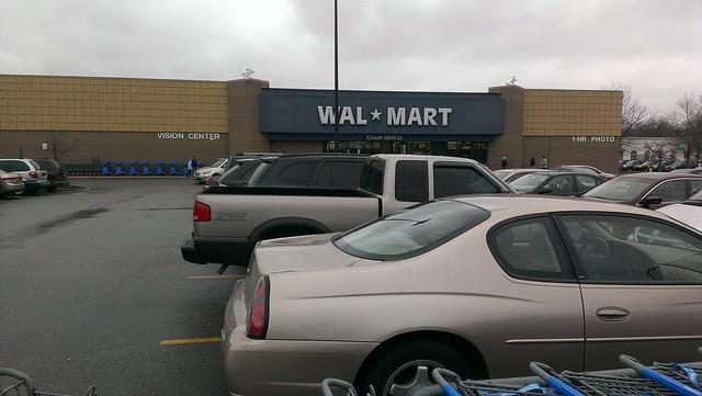 Wal Mart Glen Ellyn Illinois Storefront
