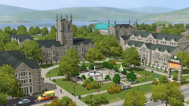 sims3, University life, университет, симс3