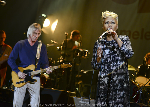 Paul Weller and Emeli Sandé