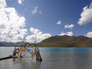 Lago Yamdrok 4441m Tibete