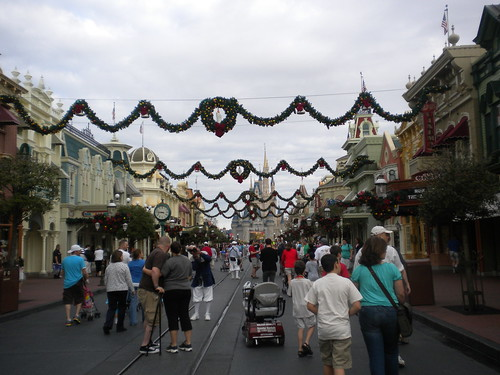 Christmas at Disney Parks