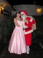 Pink Paula & Santa