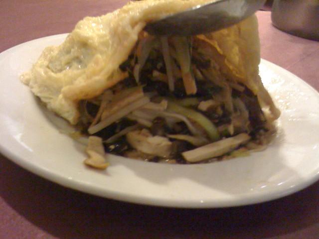 天廚菜館:合菜戴帽