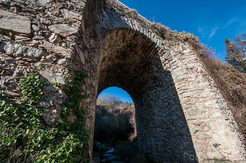 Puente del Molino o del Reajo en Cercedilla