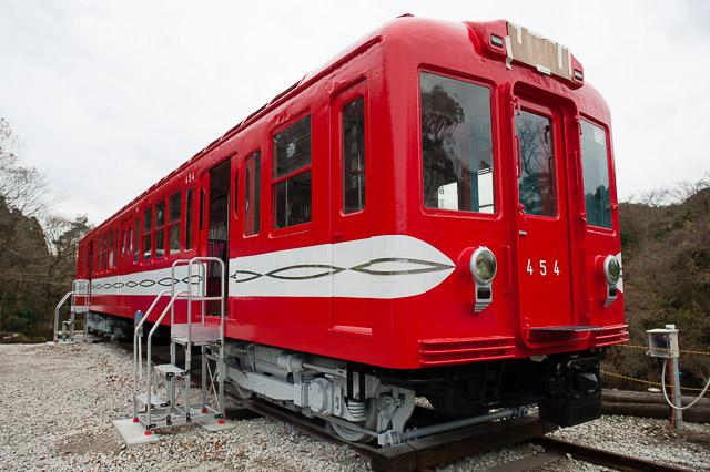 いすみポッポの丘 保存車 丸ノ内線400形 454号車