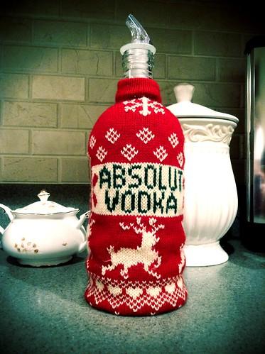 Absolute Vodka Sweater