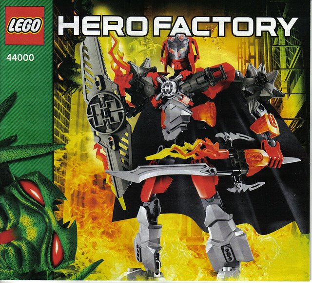 hero factory combination instructions