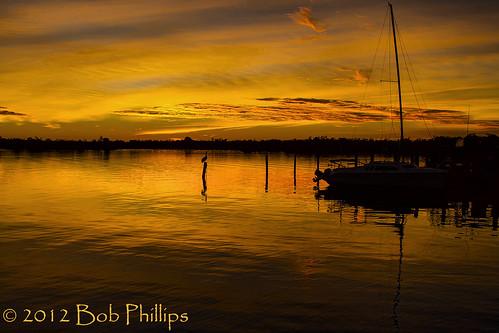 sunset gulfofmexico clouds pelican catamaran pineisland bokeelia
