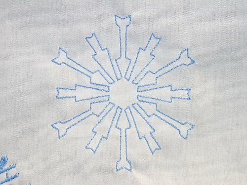 CNC Snowflakes 27