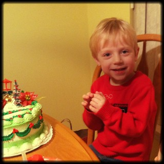 caught green-handed with his finger in the icing.