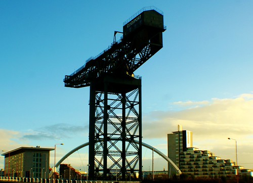 Finnieston Crane and Clyde Arc Bridge, Glasgow