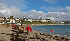 Gyllyngvase Beach, Falmouth, Christmas Day 2012