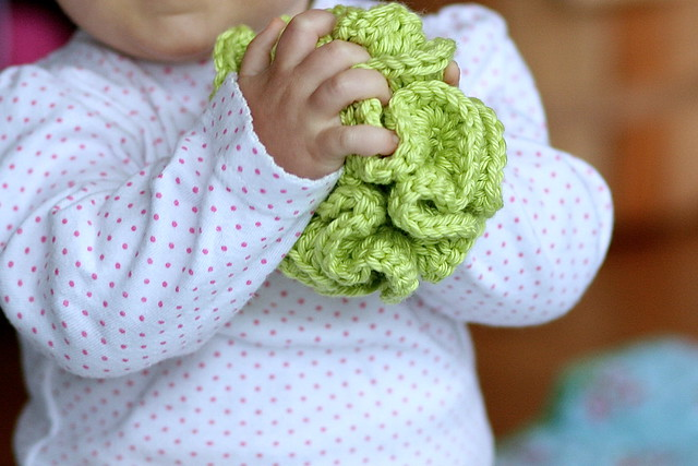 Crochet Ruffle Toy