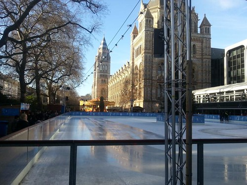 National History Museum Ice Skating