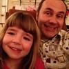 Zoe and her Uncle Eddie by ekai