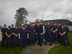 MCPOCG visits crew of Station Quillayute River