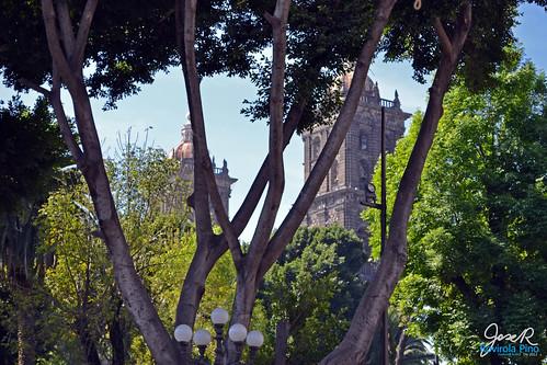 Banca en Parque de Cuetzalan Mágico www.CuetzalanMagico.mx