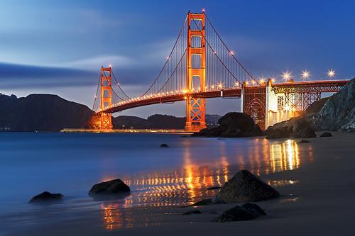 Golden Gate Bridge: Marshall Beach