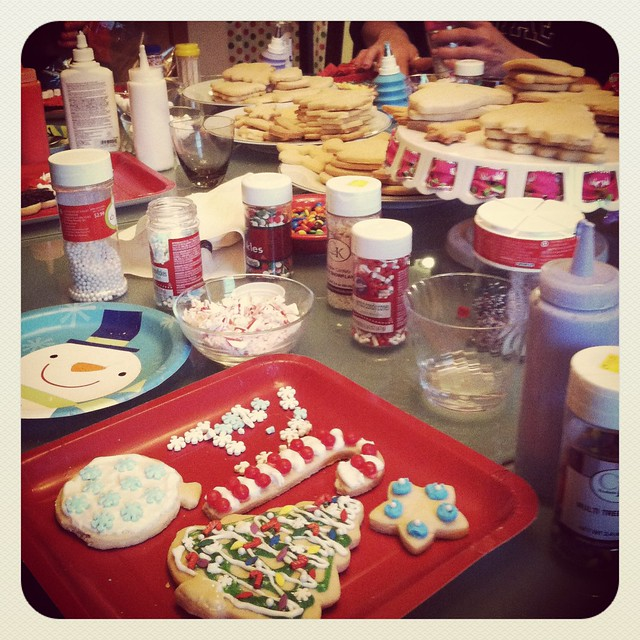 Christmas Cookie Decorating Aanouncement