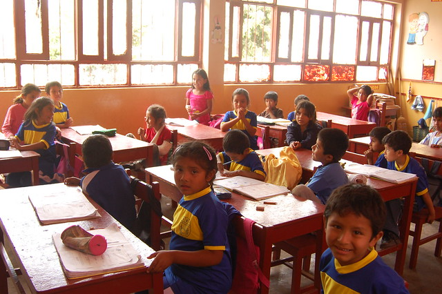 Classroom in Caral