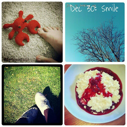 Dec 30: something that made me #smile this year .. #crochet #goodweather #goodfood spending time with #friends .. #fmsphotoaday
