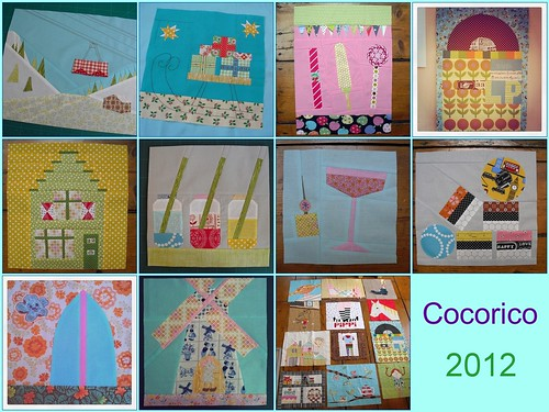 Cocorico blocks from 2012