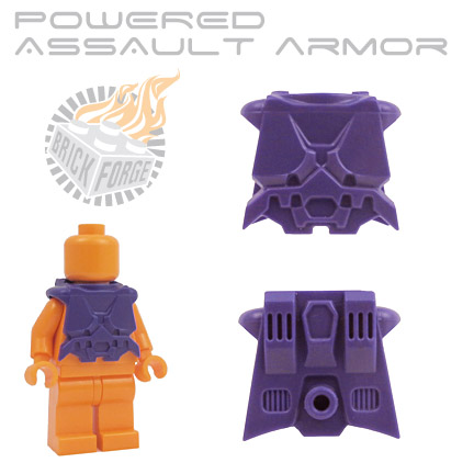 Powered Assault Armor - Dark Purple