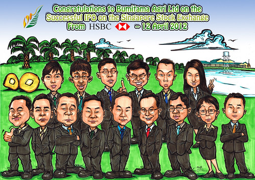group caricatures for HSBC - Bumitama Agri (edited - flattened)