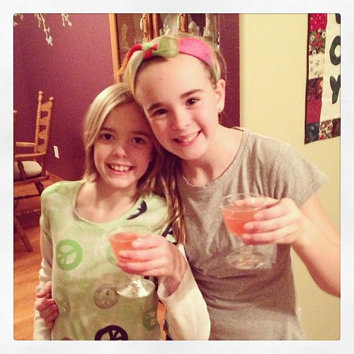 How lucky are we to welcome in the new year with these two cuties!?! #cherrylimeade #2013begins