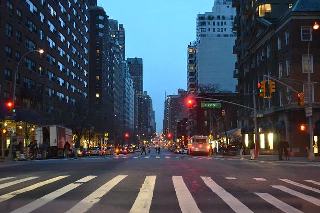 Header of 72nd Street