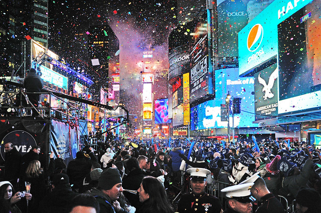New Year Celebration at Times Square !