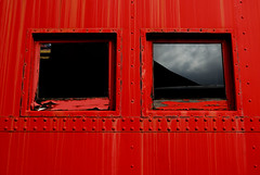 Caboose Windows