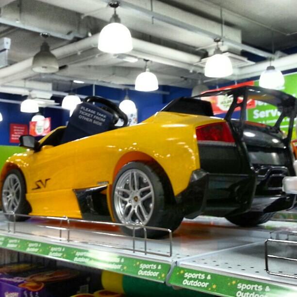 A Mini Lamborghini Murcielago Sv For Kids Cars Supercars Lamborghini Flickr Photo Sharing