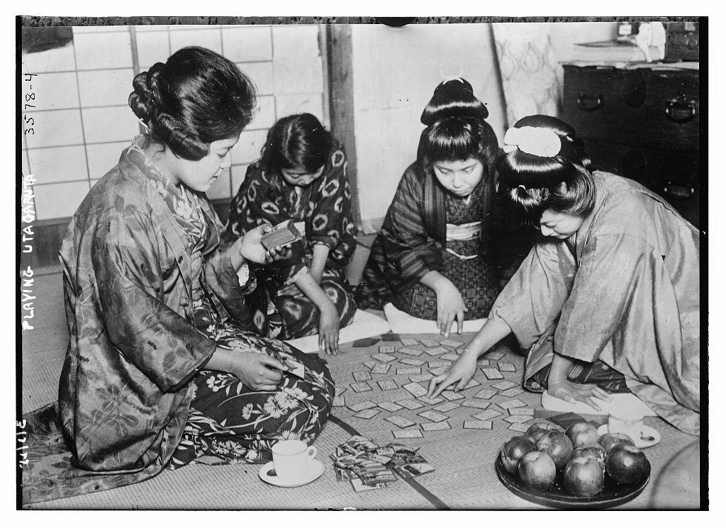 Playing Utagaruta  (LOC)