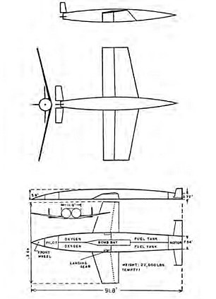 The Silverbird was devised by Austrian engineer Eugen Saenger so the Nazis could bomb New York