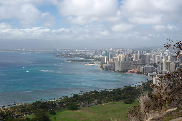 Honolulu from Diamond Head State Park
