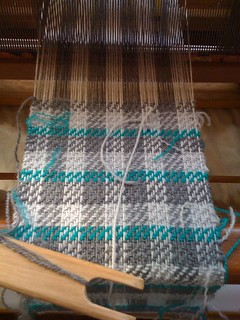 Hand woven scarf - start