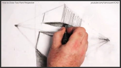 2D design how to draw in two point perspective 023