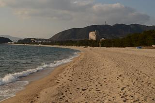 Image of 虹ヶ浜海水浴場. hikari freephoto 山口県 光市 cc0