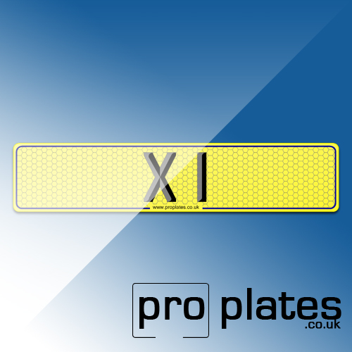 X1NumberPlate