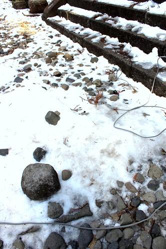 Toshogu snow
