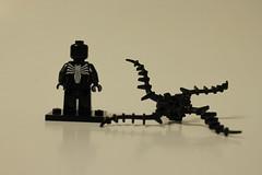 LEGO Marvel Super Heroes Spider-Man: Spider-Cycle Chase (76004) - Venom