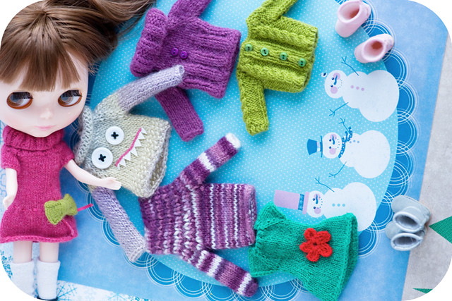 soooo sweet and amazing, doll knits of marcia♥