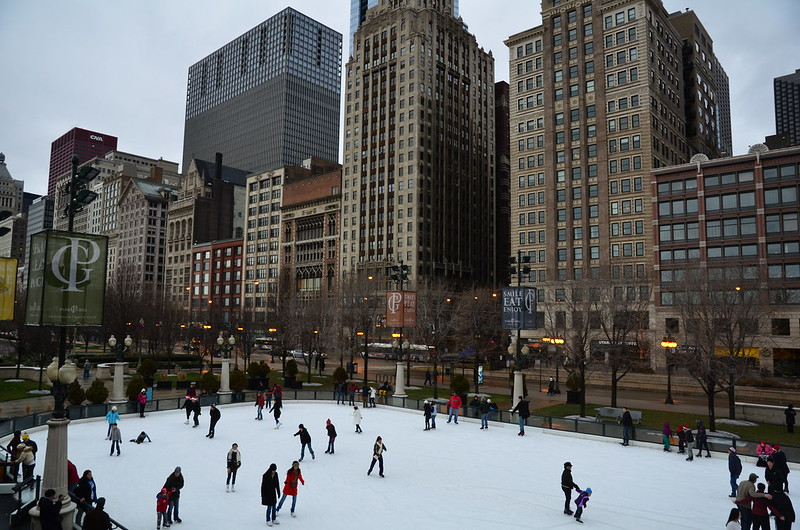 Ice Skating in Chicago