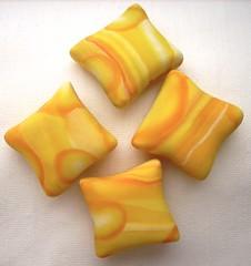Gelbe Kissenperlen