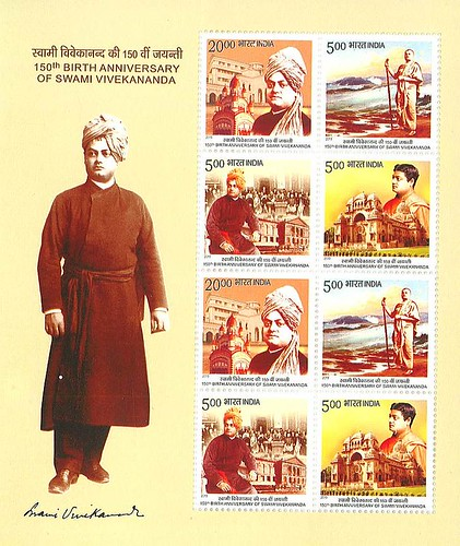 New Stamps on Swami Vivekananda