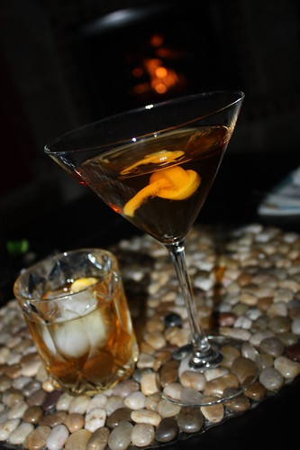 Stinger cocktail