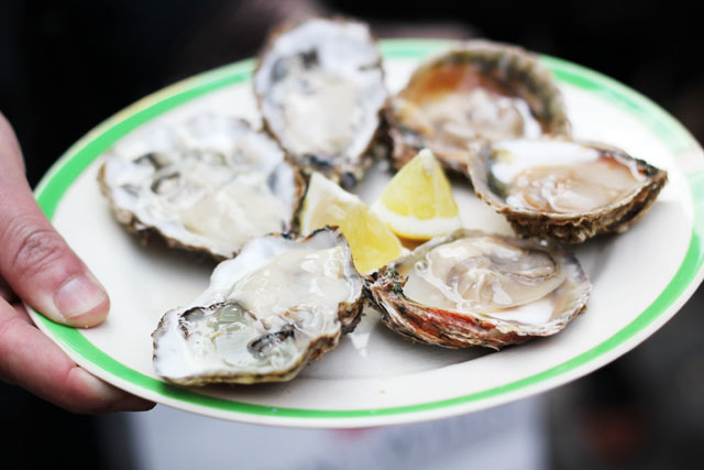Colchester Oysters at Columbia Road