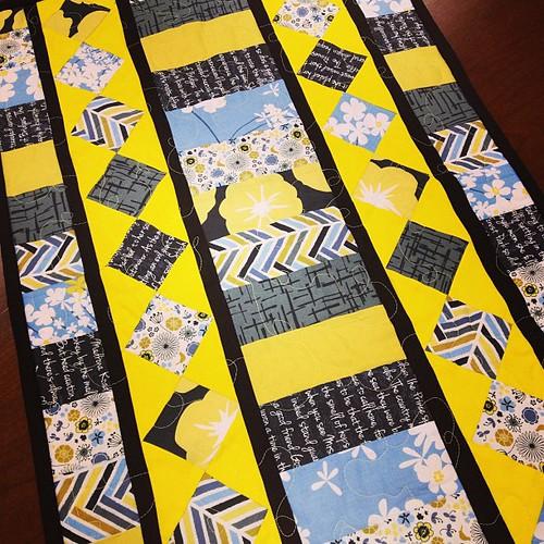 Susan's madrona road challenge quilt. #sacmqg