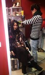 Thực hành sấy tóc lá bám cúp Hair salon Korigami 0915804875 (www.korigami (7)